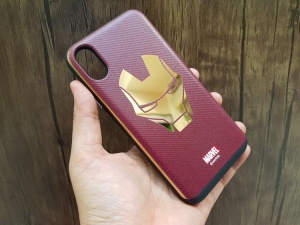 Ốp chống sốc Marvel iPhone X (iRon Man)